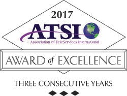 ATSI - Three Year Silver Award of Excellence