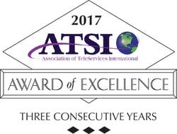 ATSI - Three Year Silver Award of Excellence